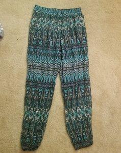 Boho Hippie Pants With Pockets